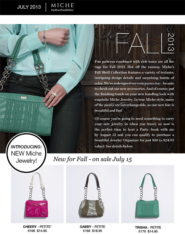 Miche Fall Releases and Promotions