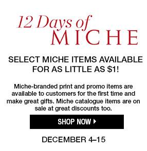 12 Days of Miche
